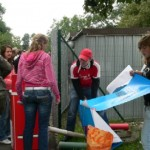 An der Aktion beteiligten sich in Bitterfeld- Wolfen viele Schülerinnen und Schüler des Walter- Rathenau- Gymnasiums. Unsere erste Station war ein voller Erfolg.