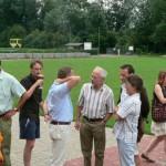 Mit 80 Gästen aus dem neuen Landkreis wurde die politische Sommerpause feierlich eingeleitet.