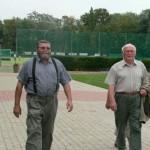 Hans- Joachim Rieger und Heinz Ackermann aus dem SPD Ortsverein Zörbig
