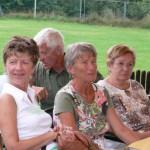 Christel- Birgitt Heinecke aus Wolfen und Elke Ronneburg aus Bitterfeld unterhielten sich angeregt über die gemeinsame Stadt.
