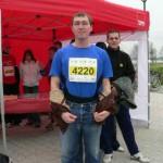 Unser Startläufer Christian Hocke aus Wolfen