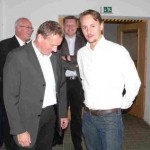 Kurt- Jürgen Zander und Thomas Engler