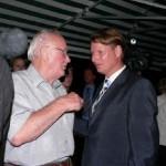 Im Gespräch mit dem SPD- Vorsitzenden