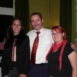 Julia Lerche, Matthias Platzeck und Tina Scholz
